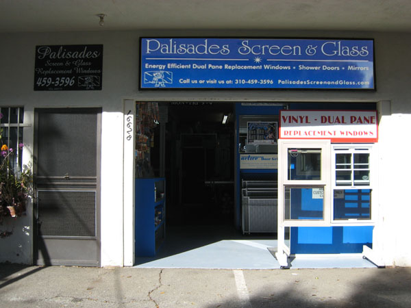 Palisades Screen and Glass Storefront